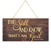 Be Still And Know That I Am God 5x10