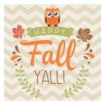 Happy Fall Y'all 12x12
