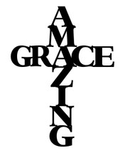 Amazing grace Word Art