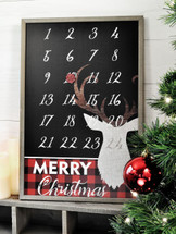 Rudolph Christmas Magnetic Countdown