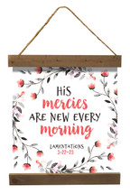 His Mercies Are New Every Morning Canvas 24x24