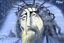 Savior Gary Varvel 12x18