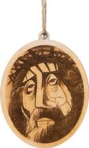 Savior Wood Ornament Gary Varvel