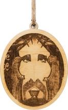Prince of Peace Wood Ornament Gary Varvel