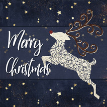 Merry Christmas - Reindeer Shelf Block 5x5