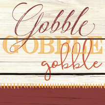 Gobble, Gobble, Gobble Shelf Block 5x5