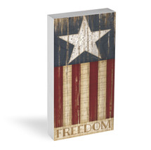 Freedom Star Shelf Block 5x10