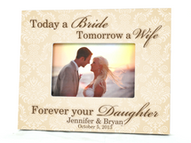 Today A Bride Wedding Picture Frame 4x6
