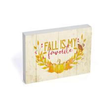 Fall Is My Favorite Shelf Block 5x10