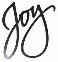 Joy 3D Word Art Wood Cutout 9x11