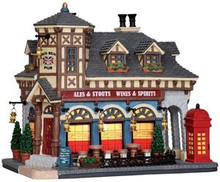 25339 - Big Ben Pub  - Lemax Caddington Village Christmas Houses & Buildings
