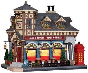 25339 - Big Ben Pub  - Lemax Caddington Village Christmas Houses & Buildings