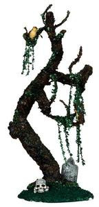 34650 - Tombstone Tree  - Lemax Spooky Town Halloween Village Accessories