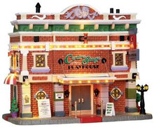 25363 - Centre Stage Playhouse, with 4.5v Adaptor  - Lemax Caddington Village Christmas Houses & Buildings