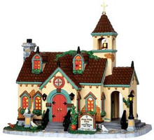 35524 - Stone Ridge Abbey  - Lemax Caddington Village Christmas Houses & Buildings