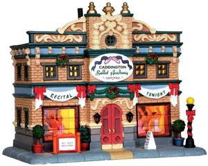35518 - Caddington Ballet Academy  - Lemax Caddington Village Christmas Houses & Buildings