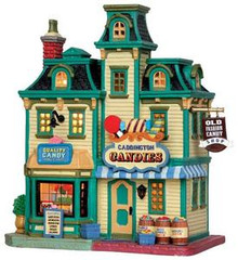 35562 - Caddington Candies  - Lemax Caddington Village Christmas Houses & Buildings