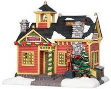 35508 - Louis Jolliet Elementary School  - Lemax Caddington Village Christmas Houses & Buildings