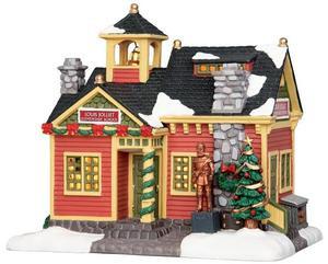 35508 - Louis Jolliet Elementary School  - Lemax Caddington Village Christmas Houses & Buildings