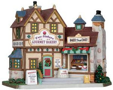 25386 - Two Sisters Gourmet Bakery  - Lemax Caddington Village Christmas Houses & Buildings