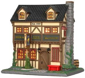 35566 - Argyle Griffin Pub  - Lemax Caddington Village Christmas Houses & Buildings