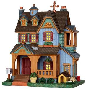 35510 - McGrath Residence  - Lemax Harvest Crossing Christmas Houses & Buildings