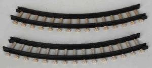 14453 - Curved Track for Spooky Town Express - 1 Piece  - Lemax Spooky Town Halloween Village Accessories