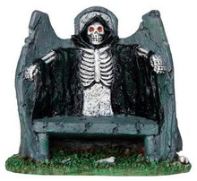 34608 - Reaper Bench  - Lemax Spooky Town Halloween Village Accessories