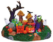 74606 - Playful Spirits - Lemax Spooky Town Halloween Village Accessories