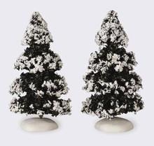 44234 - Evergreen Tree, Set of 2, Small - Lemax Christmas Village Trees