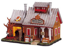 55235 - Maple Grove Sugar Shack - Lemax Vail Village Christmas Houses & Buildings