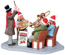 33034 - Gazebo Band  - Lemax Christmas Village Table Pieces