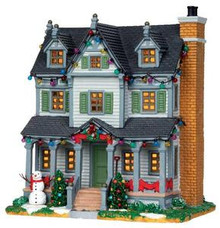 25351 - Davis Residence  - Lemax Caddington Village Christmas Houses & Buildings
