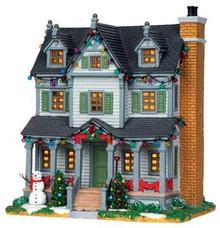 25351 - Davis Residence  - Lemax Caddington Village Christmas Houses & Buildings