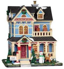 35502 - Clark Residence  - Lemax Caddington Village Christmas Houses & Buildings
