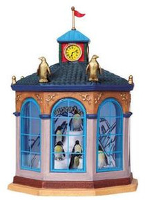 84823 - Penquins House, Battery-Operated (4.5-Volt) - Lemax Carnival Series