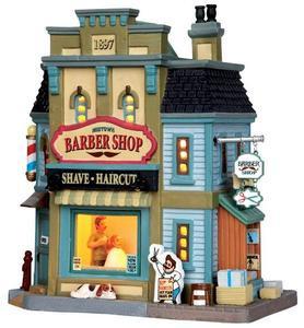 35567 - Midtown Barber Shop  - Lemax Caddington Village Christmas Houses & Buildings
