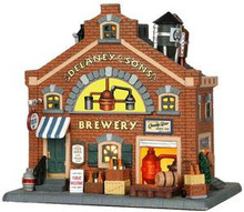 35556 - Delaney & Sons Brewery  - Lemax Plymouth Corners Christmas Houses & Buildings