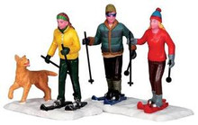 32131 - Cross-Country Friends, Set of 2  - Lemax Christmas Village Figurines