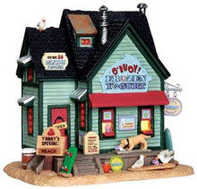35542 - O' Buoy! Frozen Yogurt  - Lemax Plymouth Corners Christmas Houses & Buildings