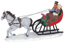 63571 -  Sleigh Ride - Lemax Christmas Village Table Pieces