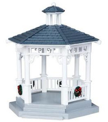 04160 - Plastic Gazebo -  Lemax Christmas Village  Accessories