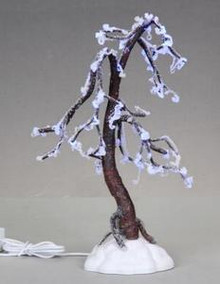 04200 - Iced Oak Tree, B/O (4.5v) -  Lemax Christmas Village Trees