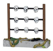 04213 - Skull Rack - Lemax Spooky Town Accessories