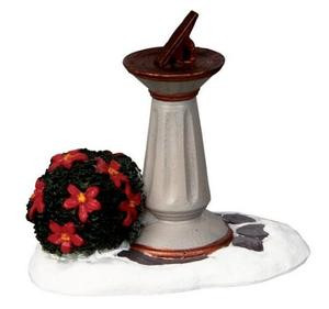 04155 - Garden Sundial -  Lemax Christmas Village  Accessories
