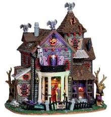 05003 - 13 Ghastly Lane, with 4.5v Adaptor - Lemax Spooky Town Houses