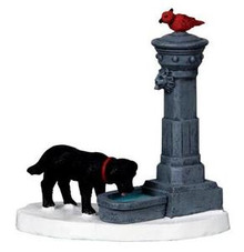 04231 - Water Fountain -  Lemax Christmas Village  Accessories
