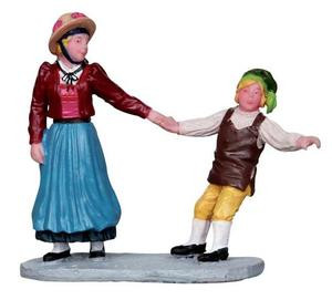 12930 - But I Don't Want to Go! - Lemax Christmas Village Figurines