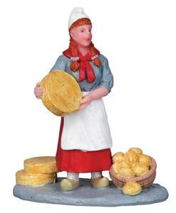 12899 - Cheese Seller - Lemax Christmas Village Figurines