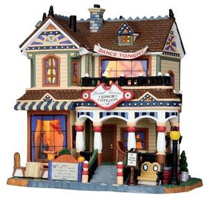 15224 - Social Graces Junior Cotillion - Lemax Harvest Crossing Christmas Houses & Buildings